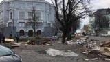 В Киеве, на андреевском спуске убрали Мафы