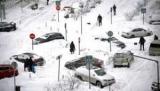 Москвичей предупредили о перекрытии улиц ночью для вывоза снега
