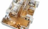 Самой распространенной планировки типовых квартир в России