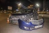 В Киеве в ДТП на Левом берегу пострадали два человека