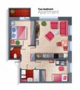 Доля трехкомнатных квартир в массовых новостройках достигла трёхлетнего минимума