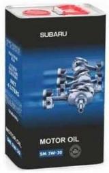 Масла Субару: обзор, характеристики. Субару Моторное масло 5W30 паспорт см